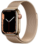 Watch 7 – 41mm – Gold Stainless Steel Case – Gold Milanese Loop Band – 4G