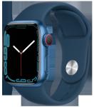 Watch 7 – 41mm – Blue Aluminium Case – Abyss Blue Sport Band- 4G