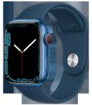 Watch 7 – 45mm – Blue Aluminium Case – Abyss Blue Sport Band – 4G