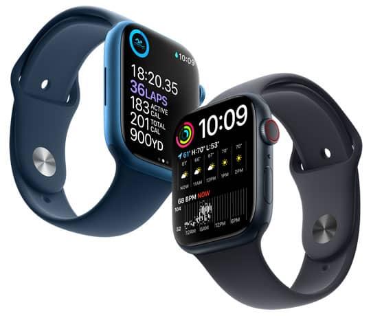 Apple Watch Series 7: Stor skærm. Enorm forskel