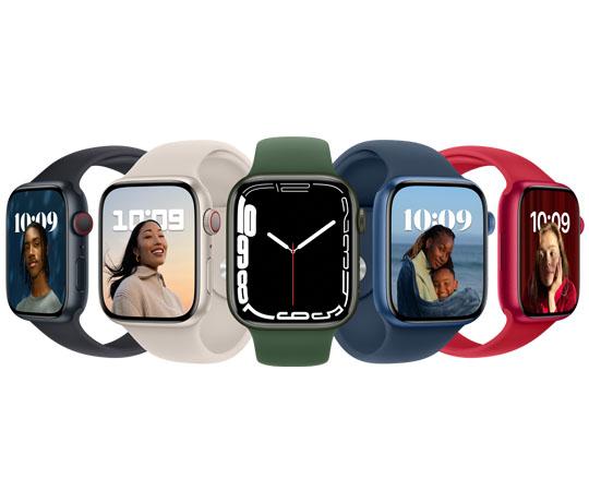 Apple Watch Series 7 er skabt til et liv i bevægelse