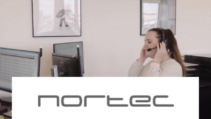Kortere svartid på opkald i Nortecs kundeservice