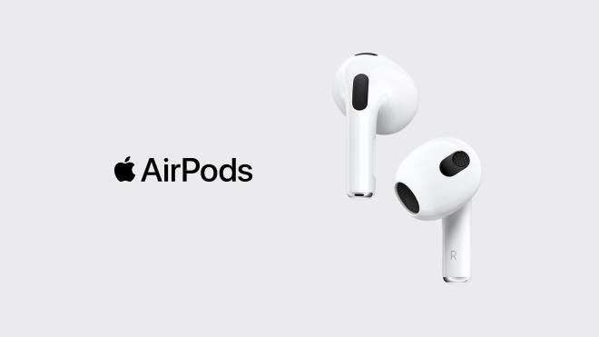 Forudbestil nu: Apple AirPods 3. generation