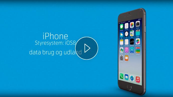 iPhone billede