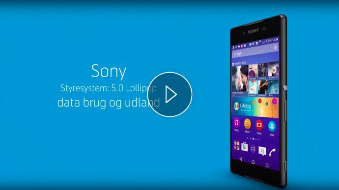 Sony mobil billede