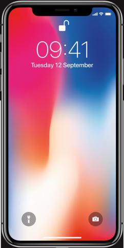 Apple iPhone X 64GB Grå