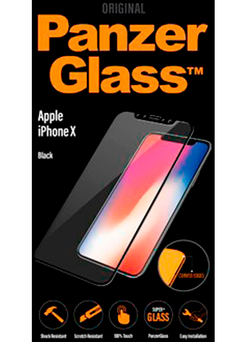 PanzerGlass PREMIUM iPhone X, Black