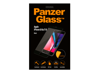 Panzerglass Premium iPhone 6/6s/7/8 Black