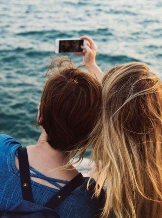 Smartphone inklusiv intelligent HD-kamera