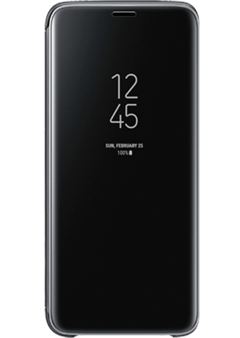 Samsung Clear View Standing Cover S9 Sort