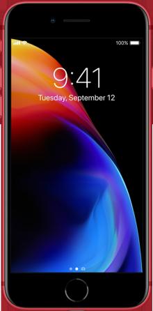 Apple iPhone 8 64GB Rød