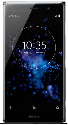 Sony XZ2 Premium + Headset