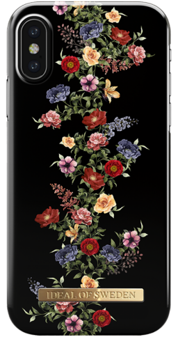 iDeal iPX/Xs Fashion Case Dark Floral