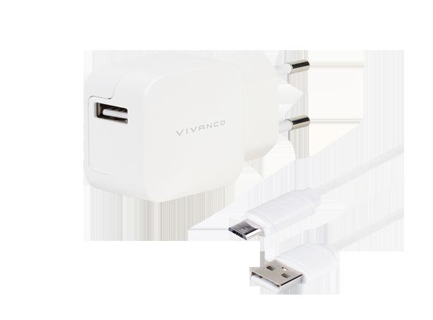 Vivanco Charger 2.4A Micro-USB