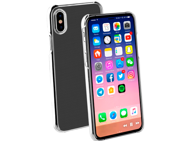 Vivanco iPhone X/Xs Slim Case Clear