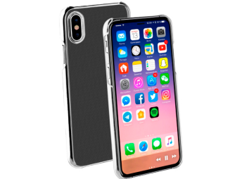 Vivanco iPhone X/Xs Slim Case Clear