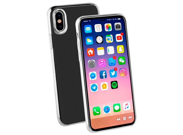 Vivanco iP Xs Cover Ultra Thin TPU Clear