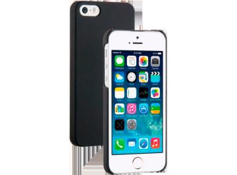Vivanco iPhone SE Touch Back Case Black