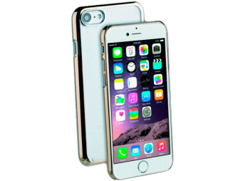 Vivanco iPhone 7/8 Cover clear/gold
