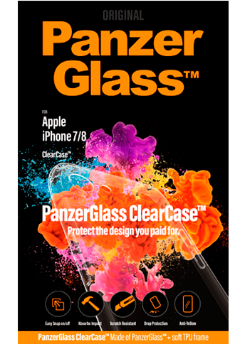 PanzerGlass Apple iPhone 7/8 Clear Cover