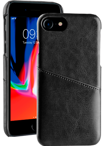 Vivanco Leather Case iPhone 8/7/6 Black
