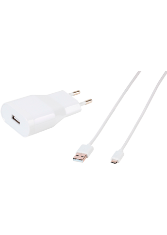 Vivanco Wall Charger Micro USB White