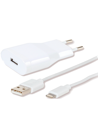 Vivanco Wall Charger Lightning White