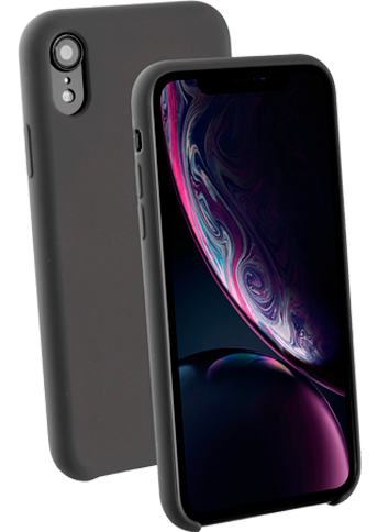 Vivanco Silicone Case iPhone Xr Black