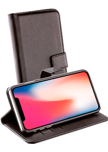 Vivanco Wallet Case iPhone Xs Max Black
