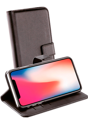 Vivanco Wallet Case iPhone Xr Black