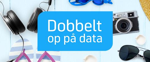 Få dobbelt op på data hele sommeren