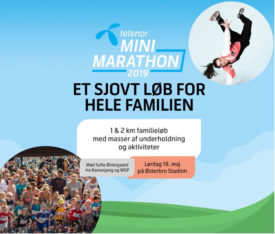 TELENOR MINI MARATHON FOR DEM MED SMÅ FØDDER