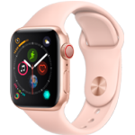 Apple Watch 4 GoldAlu PinkSandSport 40mm