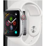 Apple Watch 4 Silver Alu WhiteSport 40mm