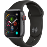 Apple Watch 4 SG Alu Black Sport 40mm