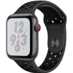 Apple Watch 4 Nike+ SG Alu Black 44mm