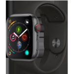 Apple Watch 4 SG Alu Black Sport 44mm