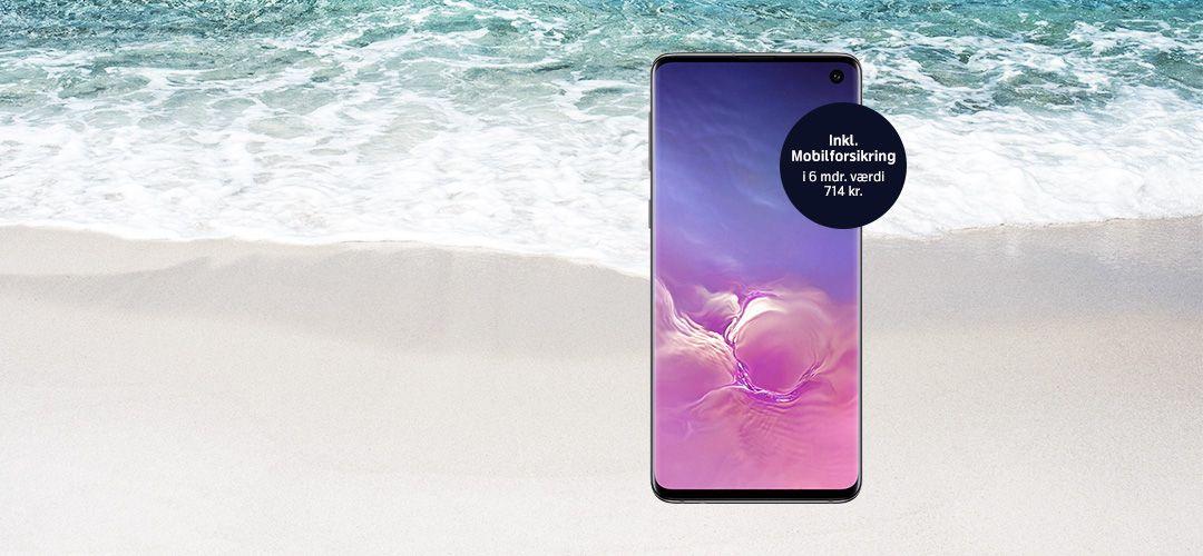 Danmarks billigste Samsung Galaxy S10
