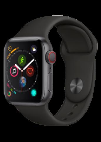 Apple Watch 4 SG Alu Black Sport 40mm