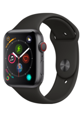 Apple Watch 4 SG Alu Black Sport 44mm