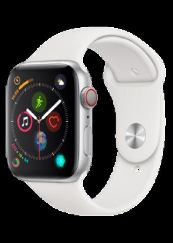 Apple Watch 4 Silver Alu WhiteSport 44mm