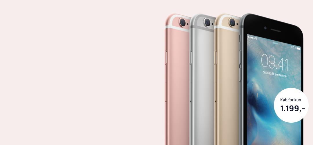 iPhone 6s med god mobilrabat