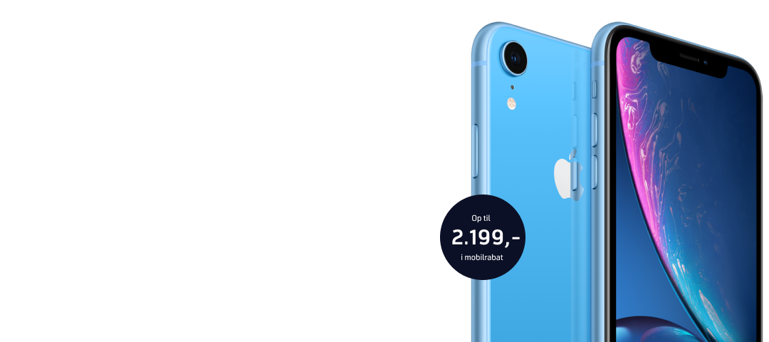 Danmarks billigste iPhone Xr