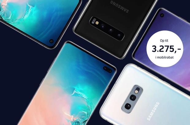 Vilde priser på Samsung Galaxy S10/S10+