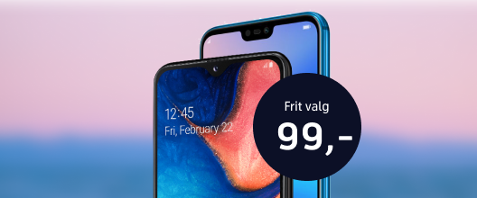 Samme skarpe pris på flere mobiler