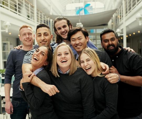 Høj arbejdsglæde og dejlige kolleger