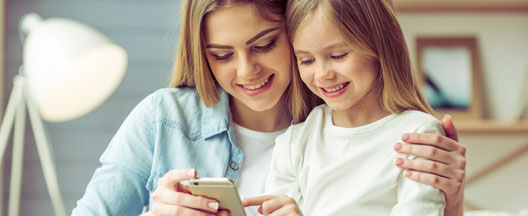Den første mobiltelefon - En stor ting for de små