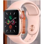 Apple Watch Series 5 - 40mm Gold Case Pink Sand - Sport Band - 4G