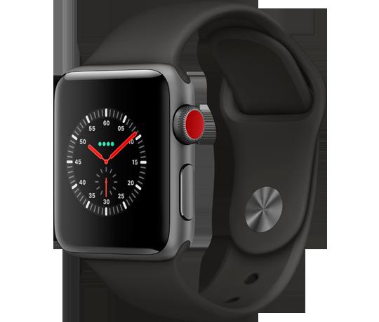 Opsætning af Apple Watch med eSIM