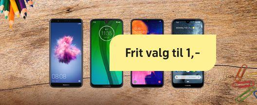 Lav pris på flere mobiler